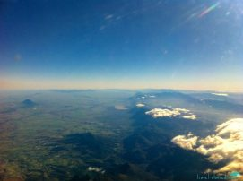 Flying over Tanzania
