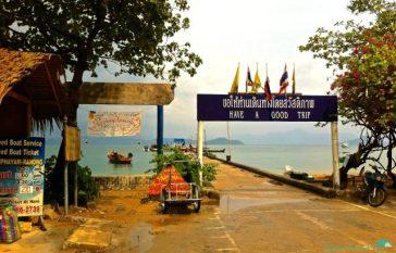 Koh Phayam's pier