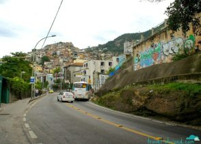 Favela Vidigal up ahead