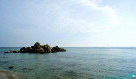 The beautiful sea.