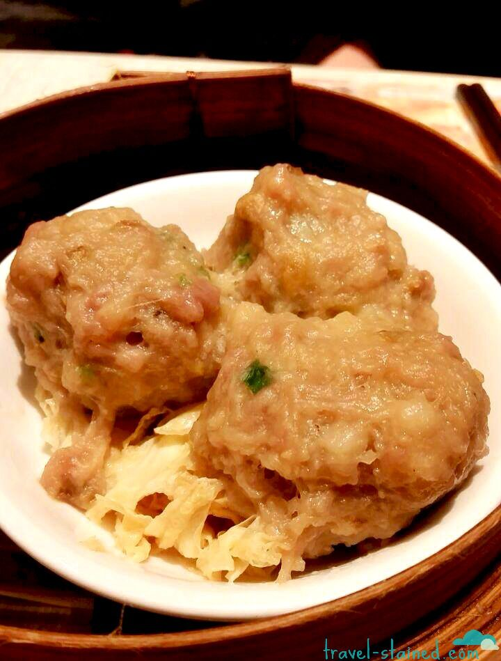My fave - steamed beef balls