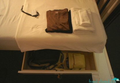 Everything you need for an overnight stay