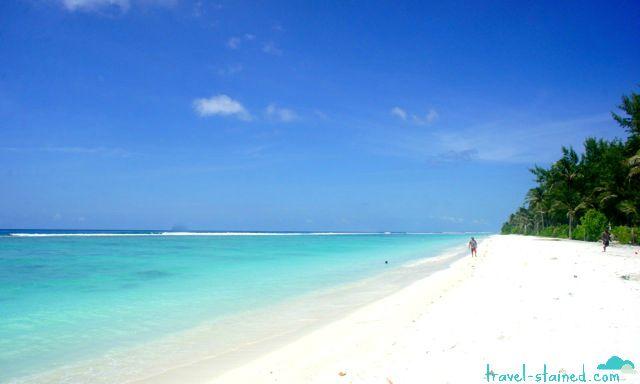 Hulhumale's gorgeous beach