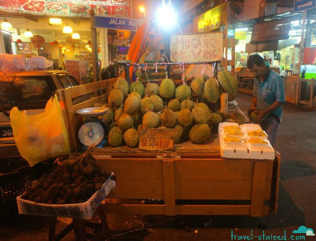 Durian - the stinky king of fruits
