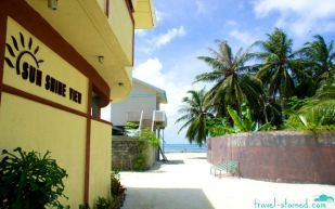 Newly opened Sunshine View Guesthouse in Maafushi