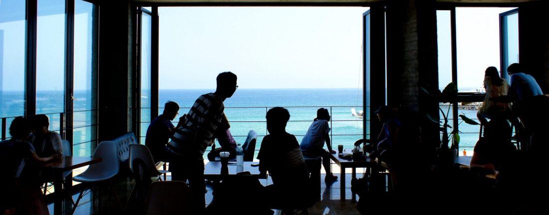 bossa nova cafe, gangneung coffee street