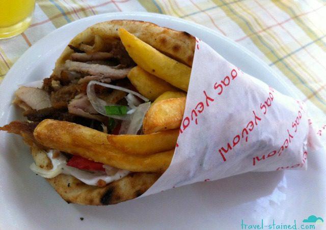 Gyros in Greece