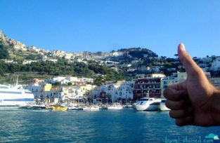 Leaving gorgeous Capri