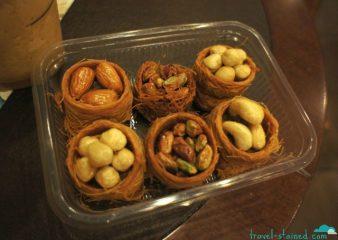 Turkish baklava is the best!