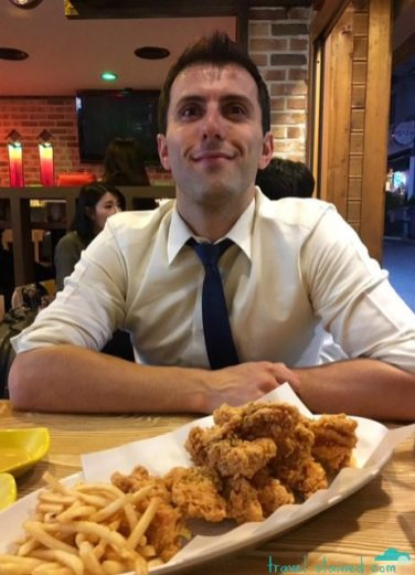Chi-mek: fried chicken and beer