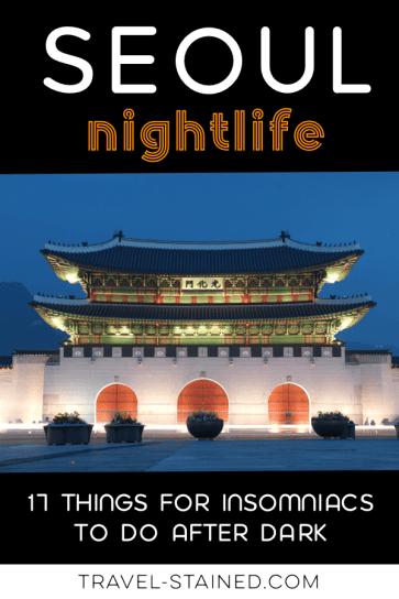 Seoul at Night - Pinterest