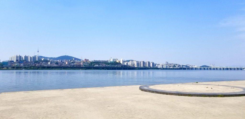 Banpo Hangang Park, Banpo Bridge Seoul blog, Korea blog