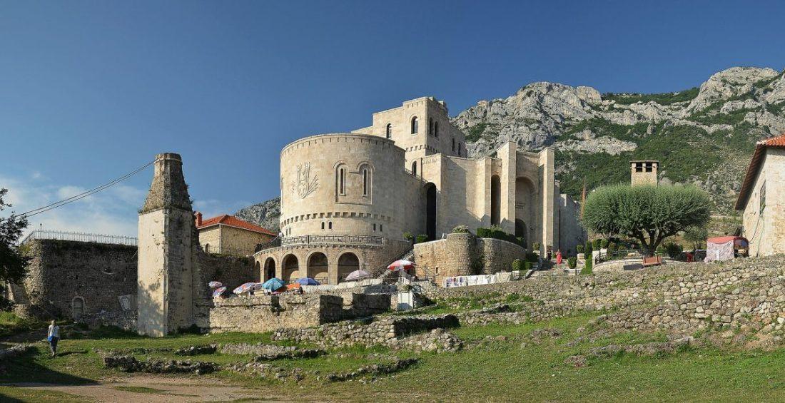 kruja castle, day trips from tirana, kruje albania