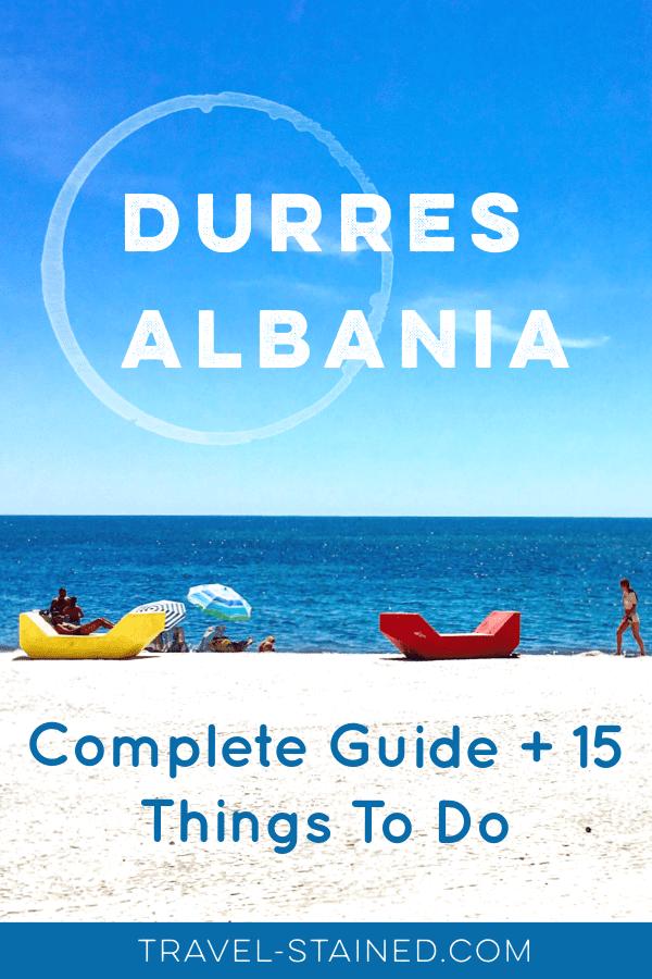 Durres, Albania beachfront #guidetodurres #durresalbania #thingstodoindurres #whattodoindurres #visitalbania