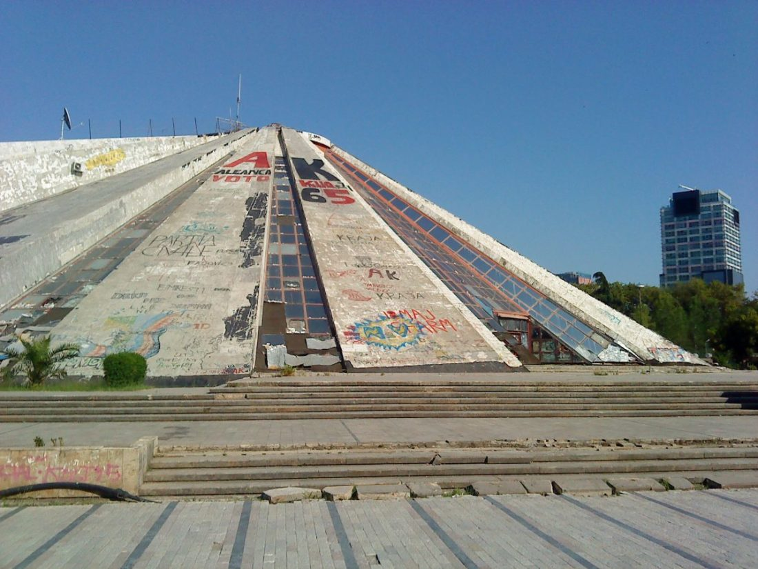 things to do in tirana, Pyramid of Tirana