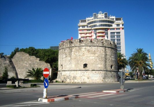 venetian tower of durres, albania