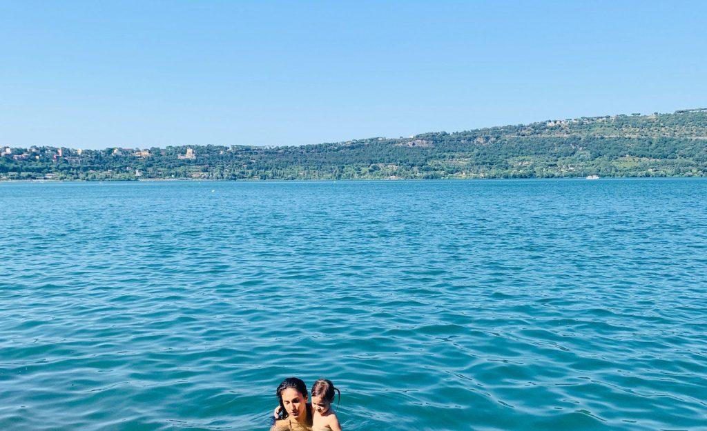 lake albano in the castelli romani