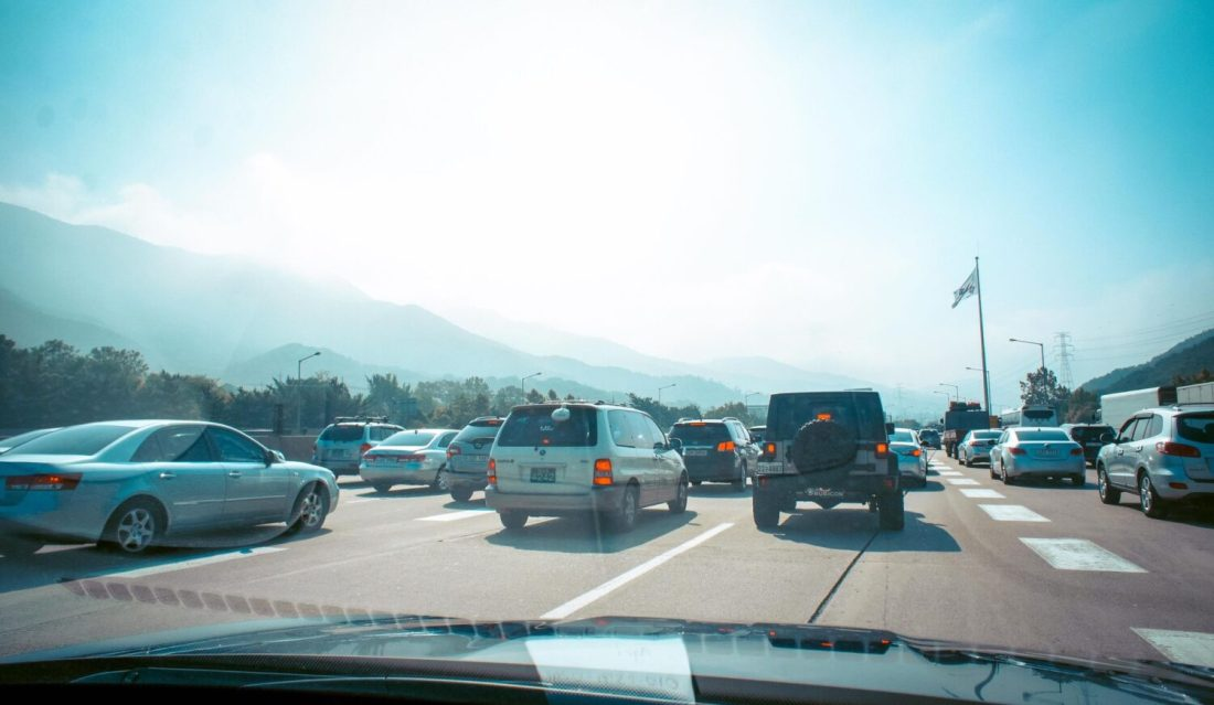 summer traffic korea