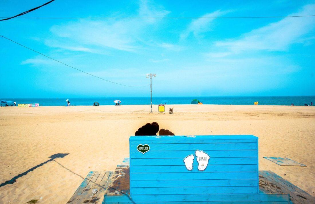 naksan beach in korea