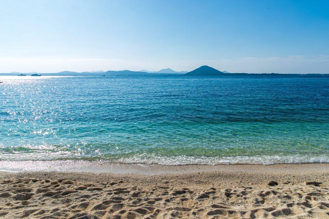 beaches in korea | Seobinbaeksa in Jeju