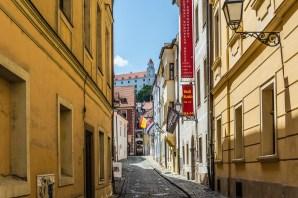 Улицы Старого города Братиславы