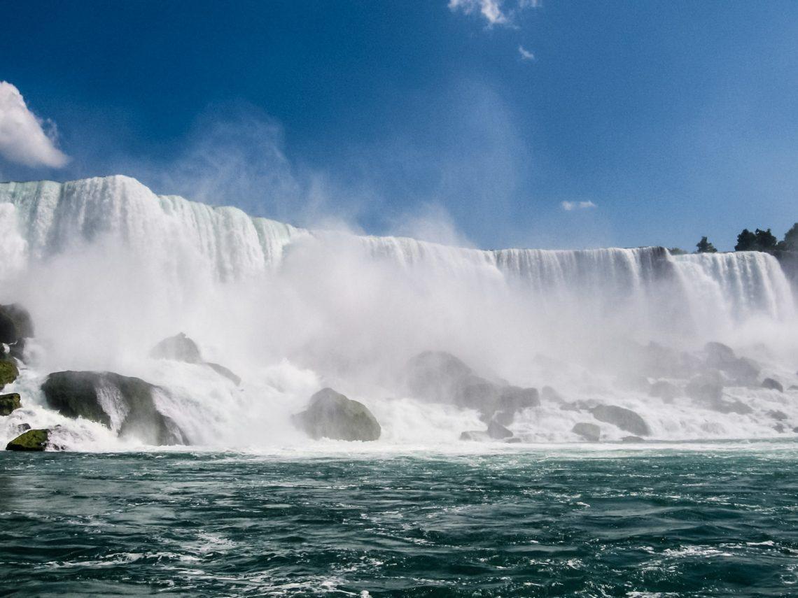 "Ниагарский водопад - Американский водопад и водопад ""Фата"""