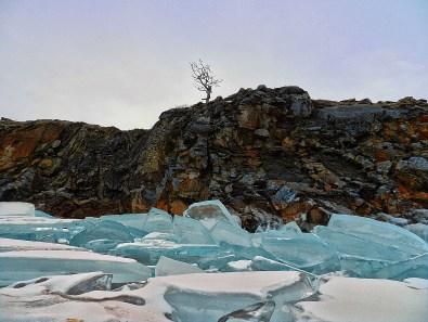 Ледяные торосы у Шаманки - Когда замерзает Байкал?