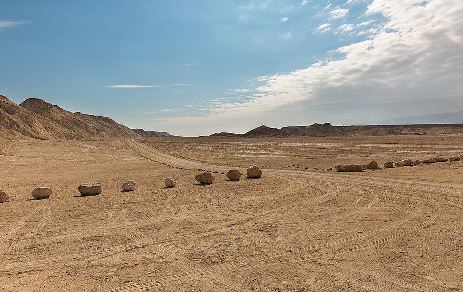Путешествие по пустыням Израиля: гора Содом