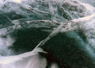 замерзший Байкал