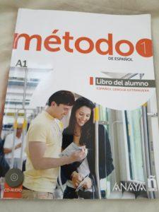 ECCで購入・使用したスペイン語のテキスト