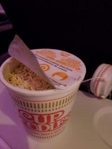 AC006便、軽食のカップヌードル
