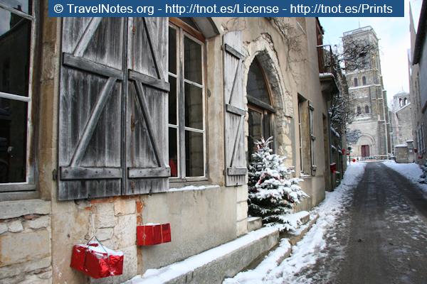Christmas in Vezelay