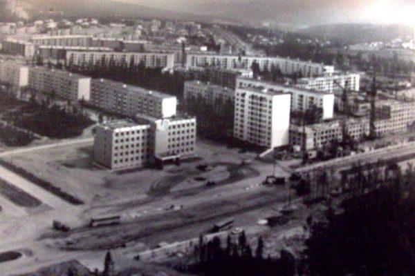 Старая фотография города Нерюнгри