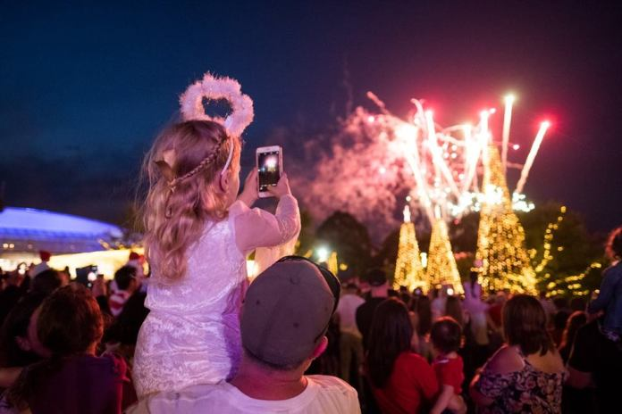 Every year Bali is lucky enough to play host to a truly magical family event, the Christmas Carols Spectacular. Image: