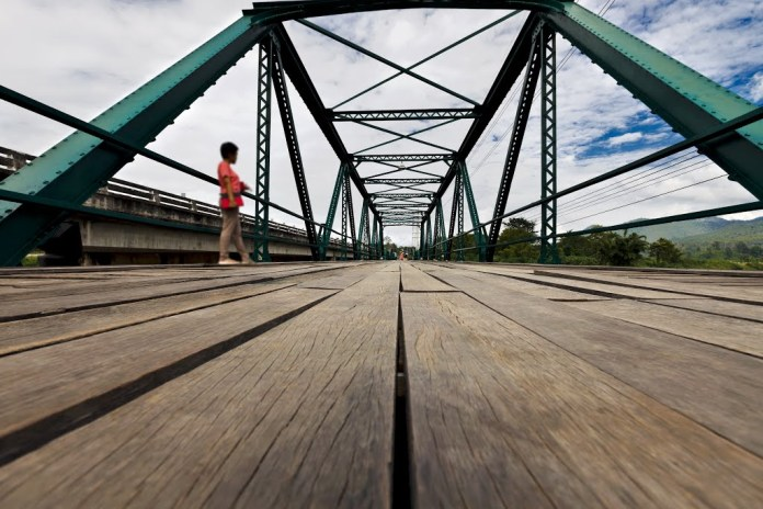The new steel Pai bridge