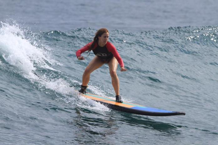 Bali is one of the world's supreme surfing destinations. Image: www.facebook.com/dreamlandsurfschoolbali
