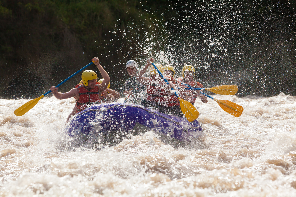 Whitewater rafting, chiang mai