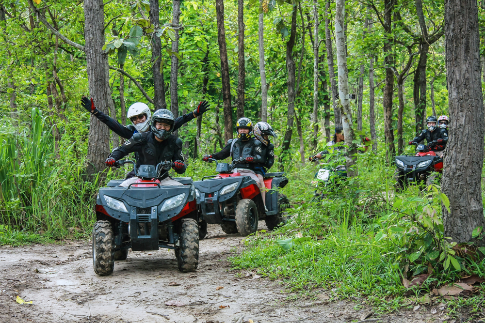 ATV, Quad Bike, Koh Samui, Active Holiday Thailand