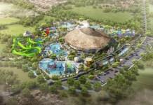 cartoon park for kids opnes in bali