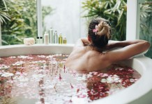 luxury bath tubes in bali