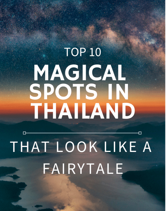 magical spots in northern Thailand