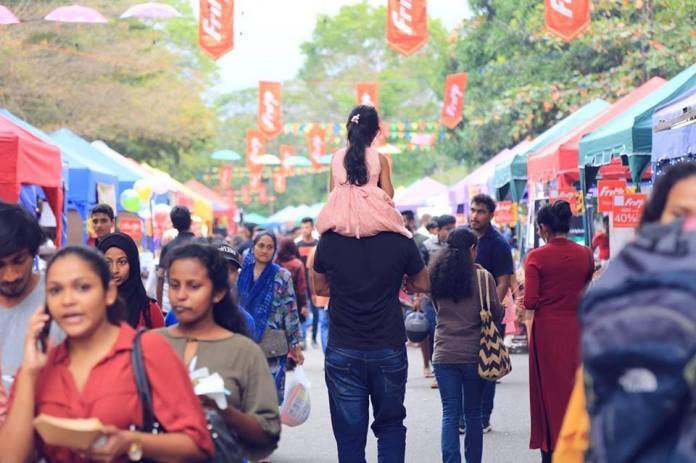 CMB Street Shopping and Food Festival will be one of the best family things to do in Sri Lanka in 2019