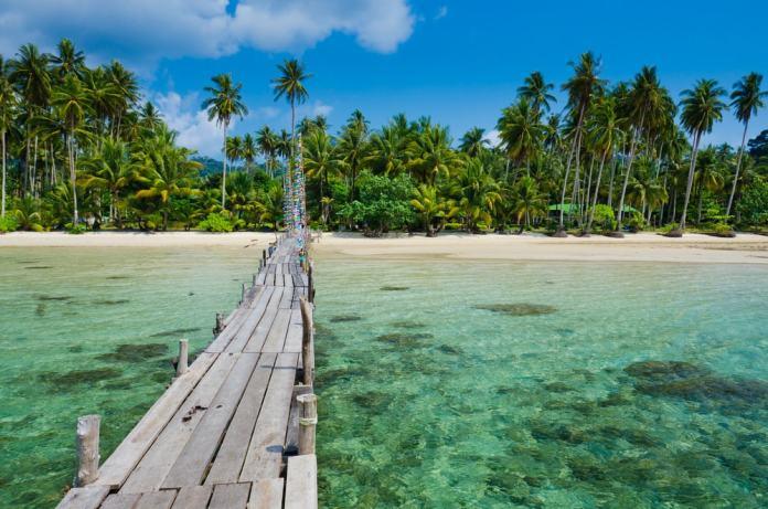 Summer destinations in Asia.