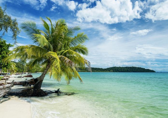 Explore the golden sands of Ko Rong.