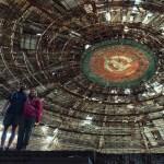 Touring a UFO in Veliko Tărnovo, Bulgaria