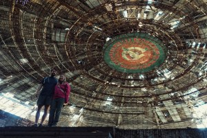 UFO Tour Bulgaria Inside Abandoned Buzludzha Building