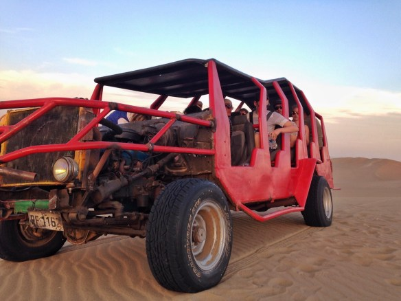 Huacachina Desert Red Dune Buggy