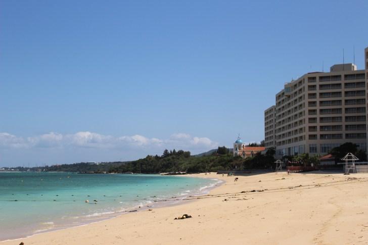 沖縄の海が綺麗すぎる
