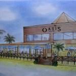 【JALプライベートリゾートオクマ】オクマビーチに「Beach Cafe OASIS」2013年8月15日オ ープン!