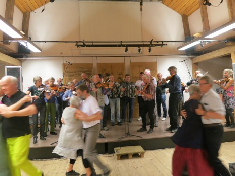 dancing to the Orsa spelmanslag